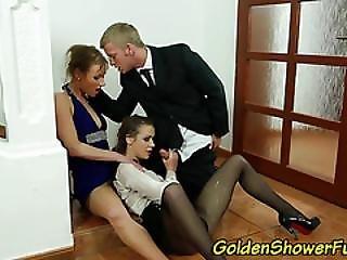 Piss Drenched Sluts Fuck
