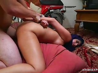 Arab Slut Suck Cock And Gets Fucked Hard