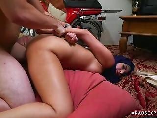 Arab Slut Suck Cock And Gets Fucked Hard