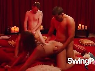 Married Couple Full Swing Into Group Sex