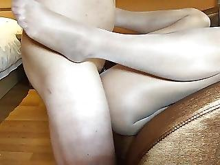 Chinese Wife Fuck With Pantyhose
