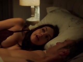 Elizabeth Gillies In Bra Sex & Drugs & Rock & Roll S02 E04