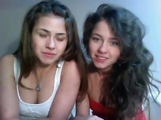 amatør, brunette, polsk, sexet, sex, søster, teen, tvillinger, webcam