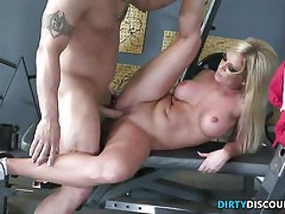 Busty Deep Throating Milf