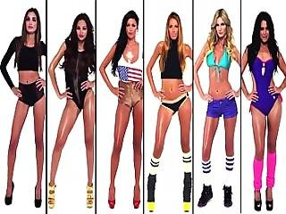 Ultimate Battle Music Compilation Of 300 Celebrities Vs Pornstars Pmv