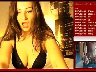 azione, tette grandi, pisello, divertente, webcam