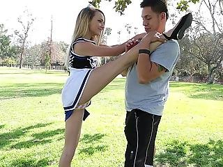 American, Babe, Blonde, Cheerleader, Coed, College, Cute, Flexible, Horny, Innocent, Reality, Sex, Skinny, Skirt, Student, Teen, Uniform, White, Young