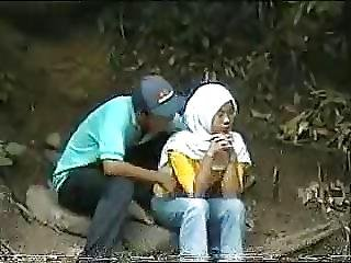 Malay Skodeng Awek Tudung Hijab Putih Romen