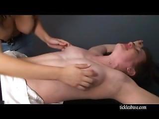 Nurse Lisa Topless Tickled F/f