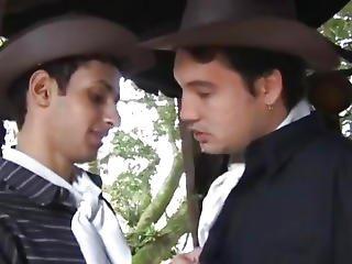 Latino Barebacking Barn Fuck