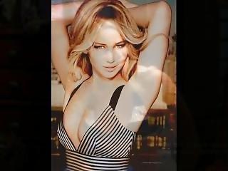 Jennifer Lawrence Hard Jerk-o-challenge + Asmr Epic