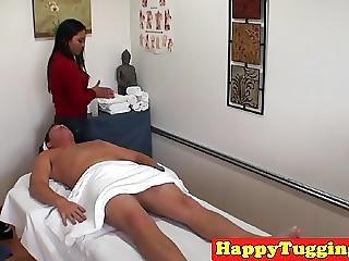 Asian Massage Handjob Caught On Hiddencam