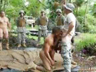 Hairy military men cock movie gay Jungle
