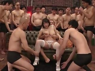 Kaho Shibuya All Holes Filled, Creampie, Cum Swallowing