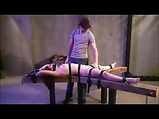 Pussy Whipped Clamped And Toyed