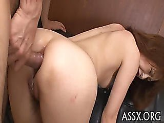 Asian Love Tunnel Shaving And Wild Anal