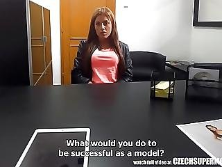 Young Busty Teen Has No Problem With Fucking For Fashion Job