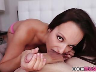 Busty Babe Pov Sucking Dick In Closeup