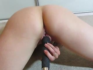 Wet Pussy Girl Is Having Fun With Vibrator, Dreaming About Fucking