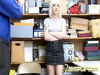 Rough Sex And Pussy Licking At The Warehouse! Shoplifter Gets Forced To Fuck Hard! Visit Us Now And Join For More Full Scenes