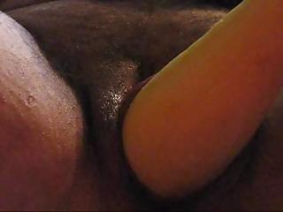 Pepino, Masturbação, Cona