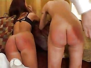 2 Girls Caning