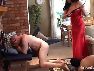 Men Are Slaves - Earn My Boobs