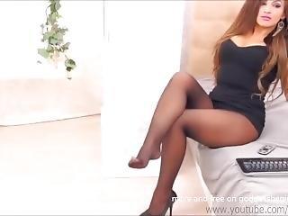 Webcam Girl In Pantyhose 2