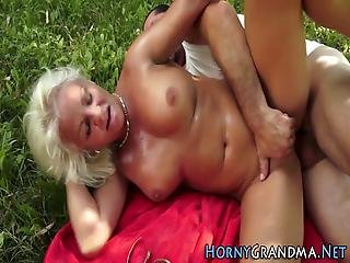 Old Grannys Ass Fucked