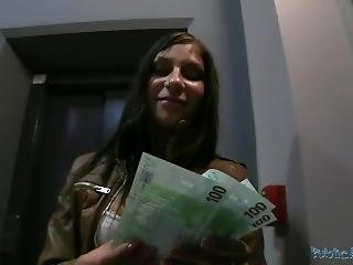 Publicagent Czech Teen Sucks And Fucks On Public For Money