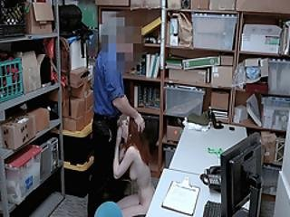 Lp Officer Gave Pepper Hart A Mouthful Of Cock