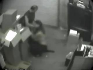 Bj Caught Inside Security Camera.