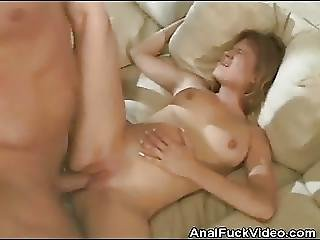 Anal Fucking On The Couch