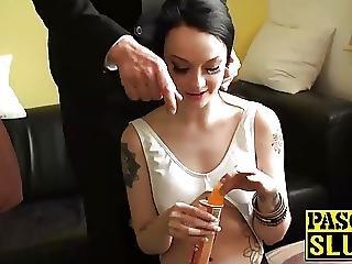Amateur, Brunette, Hardcore, Nymphomane, Pâle, Brusque, Sexy, Tatouage, Ados
