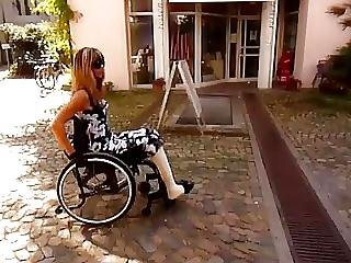 Milf Dbk Amputee Cast Leg