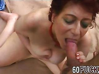 Bbw Redhead Granny Stimulating Shaved Fat Pussy With Thick Cock Lover Outdoor