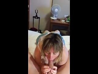 Married Uk Milf Gives Lover A Blowjob
