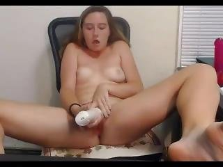18yo Teen 3 Hitachi Cum