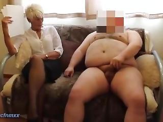 amatõr, fõnök, brit, cfnm, maszturbáció, érett, milf, szexi