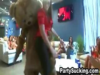 Naughty Females Blowing Dick At Trinity S Outlandish Surprise Extravaganza