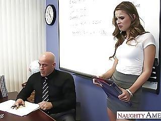 Slim Geek Jillian Janson Fucking
