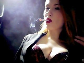Smoking Fetish Goddess