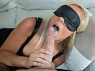 Sweet Chick Kenzie Green Having A Huge Meat For Her Pussy