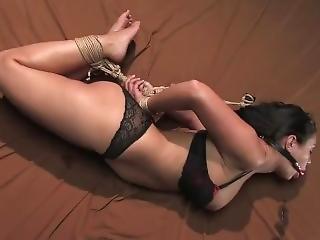 bondage, hogtied, bundet