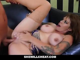 Shewillcheat - Lonely Slutwife Gia Paloma Fucks A Patron