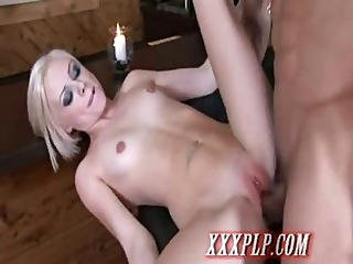 Blonde Babe Doing Her First Video