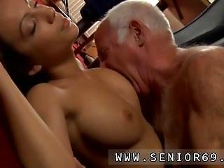 Hotel Maid Old Man At That Moment Silvie Enters The Room To Fuck.