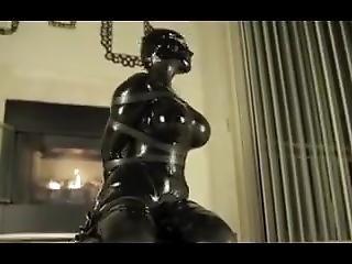 Latex Bondage Orgasm