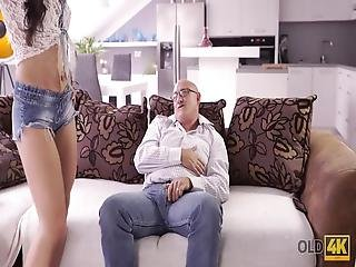Mira And Bruno Met At Ibiza, When She Fell In Love With This Big Old Man He Was Bold, Brutal And Absolutely Sexy Every Time When They Were Together She Could Think About Rough Sex Only