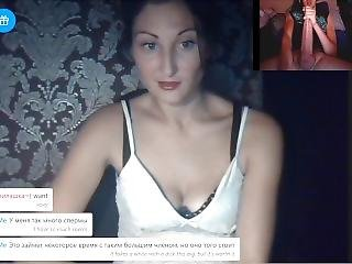Omegle Cock Shocked Russian Gets Naked For A Huge Dick